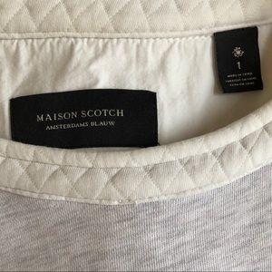 Maison Scotch crew neck sweater Scotch & Soda UK 1
